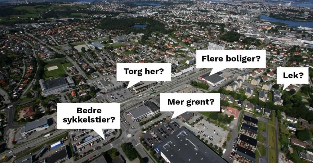 Stavanger kommune har ambisjoner for området.