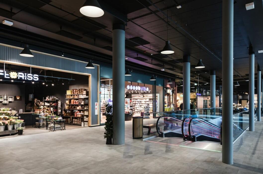 VEKST: Butikkene i Scalas kjøpesentre økte omsetningen i fjor. Her fra Skedsmo Senter.