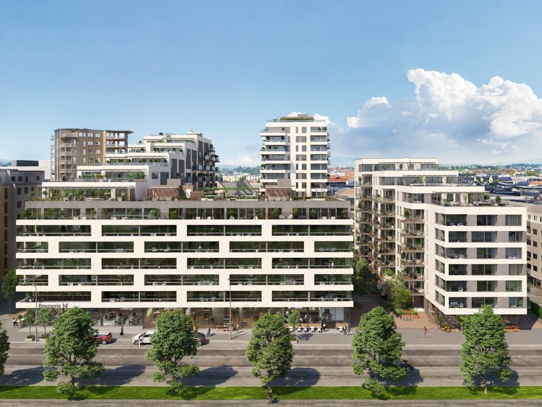 VIKTIG: Middelthunet blir viktig for boliggiganten i inneværende år. Foto: Veidekke