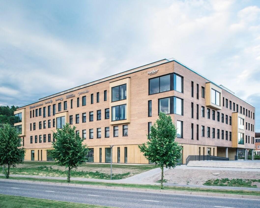 SENTRALT: Eiendommen ligger like ved Statens hus i Tønsberg.