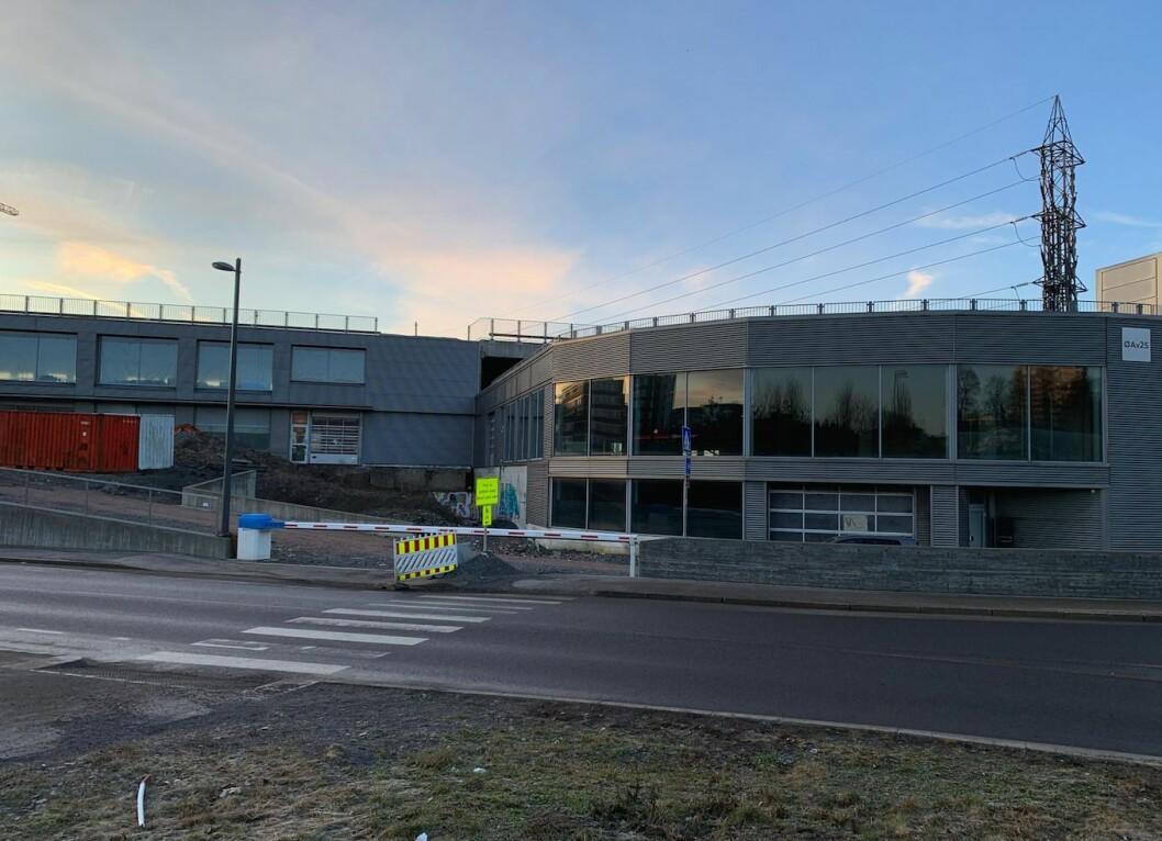SOLGT: Østre Aker vei 25-27 har stått tomt i flere år.