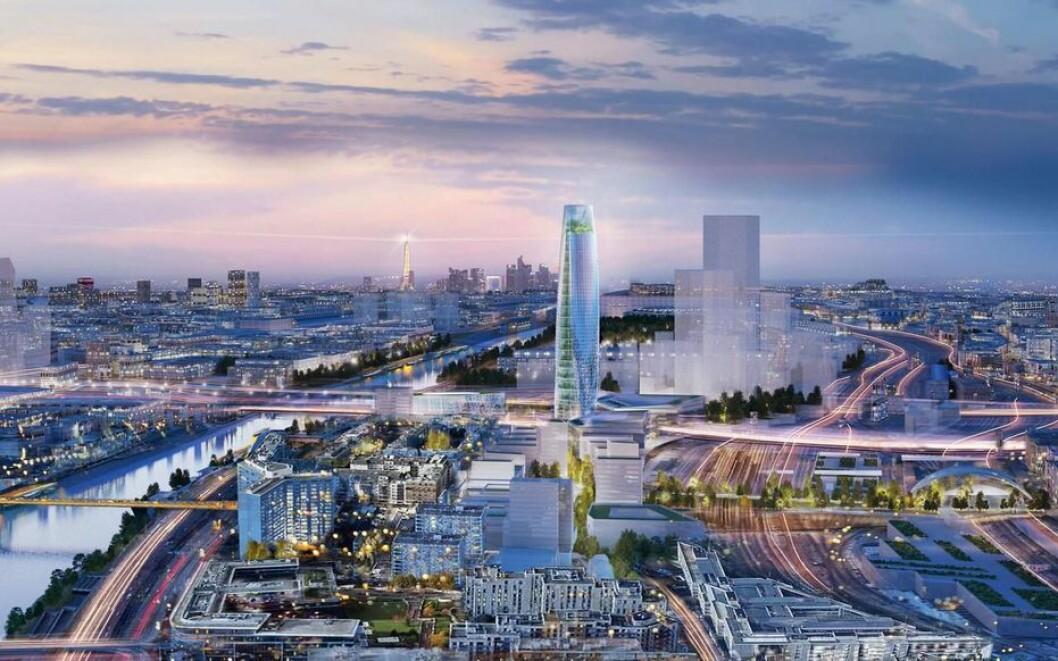 NORSK AI: I 2018 ble Bouygues Immobilier som spesialiserer seg i å utforme bærekraftige områder med blandet bruk, valgt til å utvikle Charenton-Bercy-prosjektet som er et gammelt industriområde i Paris. Til det arbeidet skal de bruke norsk teknologi.