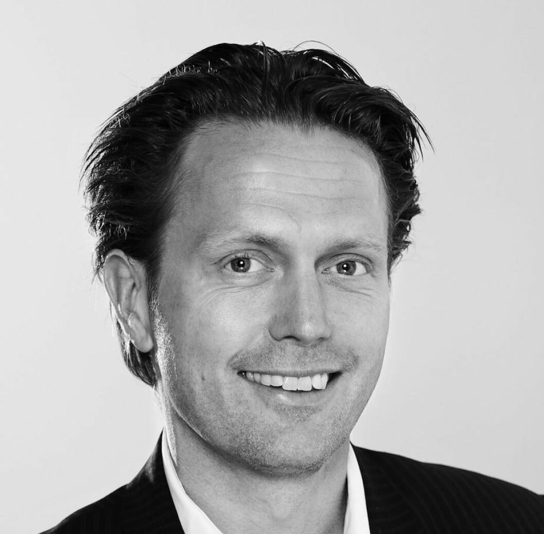 TROR PÅ SENTRUM: Adm. direktør Eivind Bøe Johannessen i Wahl Eiendom har stor tro på Oslo sentrum.