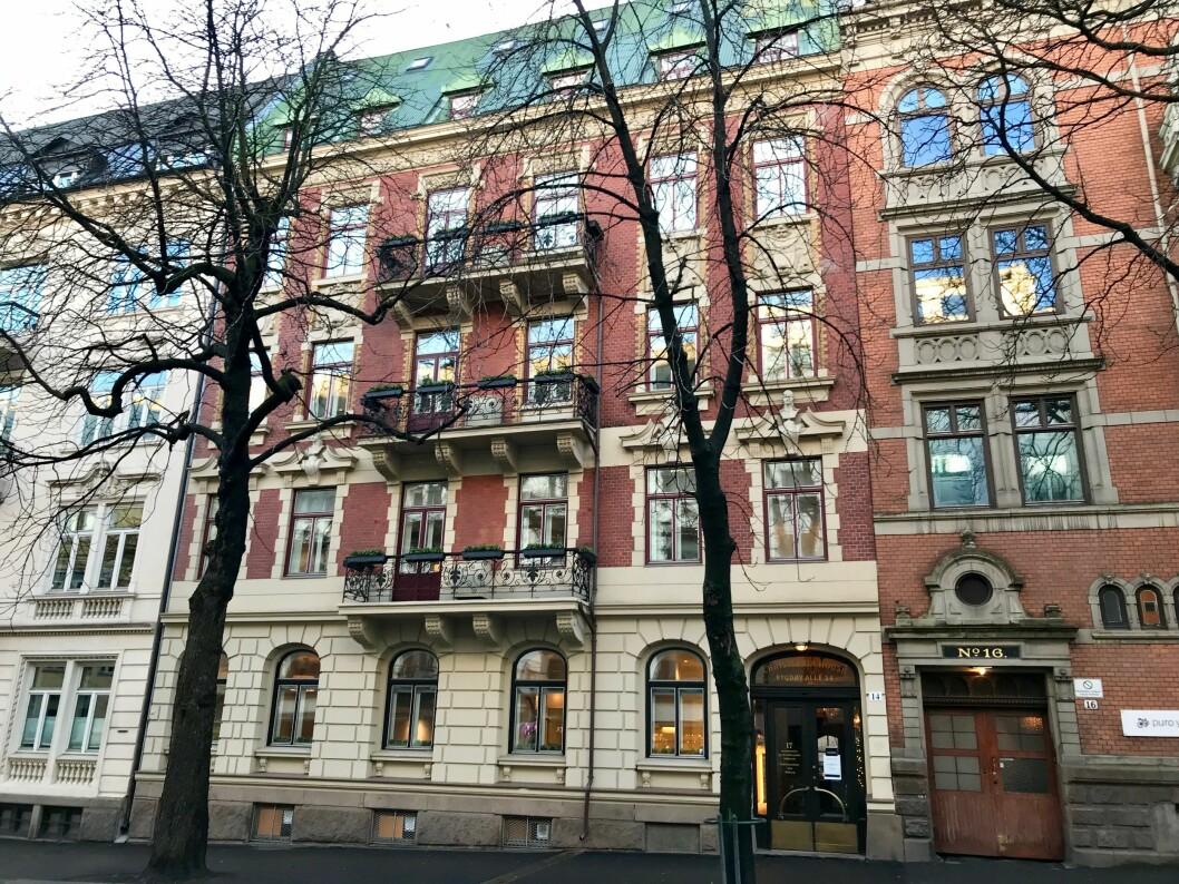DEKNINGSSALG: Bonum fikk solgt bygården Bygdøy allé 14på dekningssalg, da den opprinnelige kjøperen ikke gjorde opp for seg.