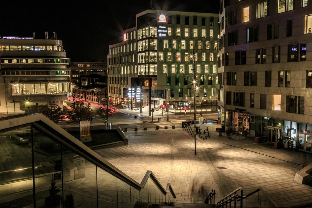 NOMINERT: Schweigaards gate 16 er sertifisert med BREEAM In-Use. Foto: Knut Neerland