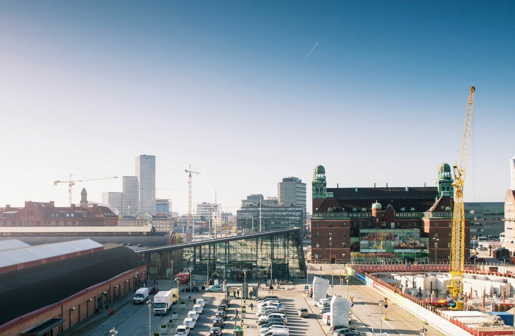 STOR AKTØR: Areims fond eier blant annet eiendommer sentralt i Malmö.