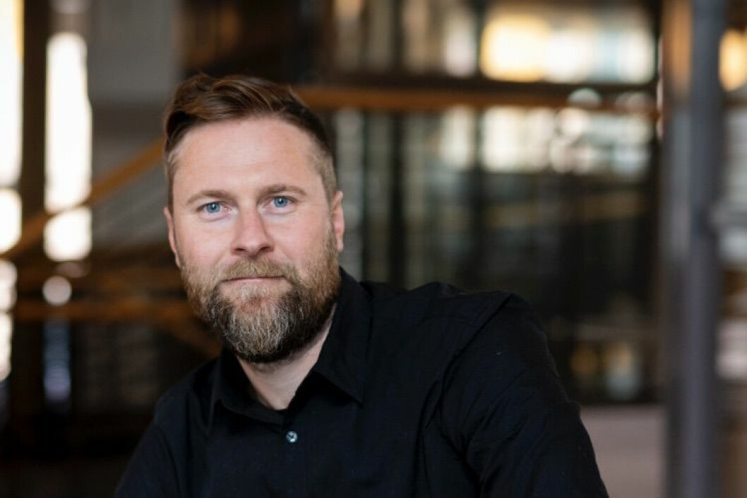 OPPRYKK: Esbjörn Kjell blir partner i DARK Arkitekter.