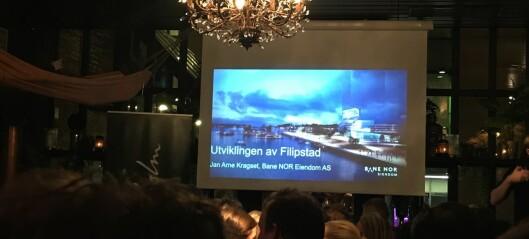 Holdt på med Filipstad-prosjektet siden 2006