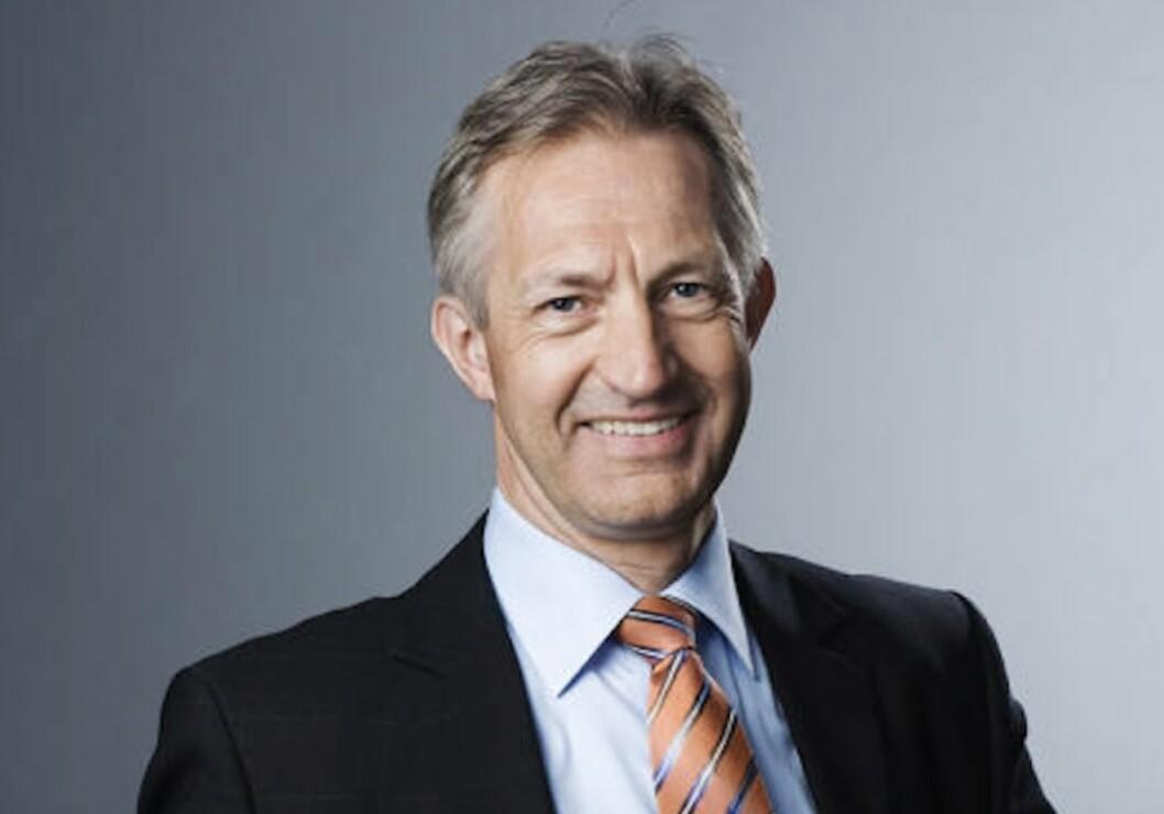 TAKKER FOR SEG: Thor Olaf Askjer har vært adm. direktør i Norsk Eiendom i over ti år. Nå skal han overlate sjefsstolen til noen andre.