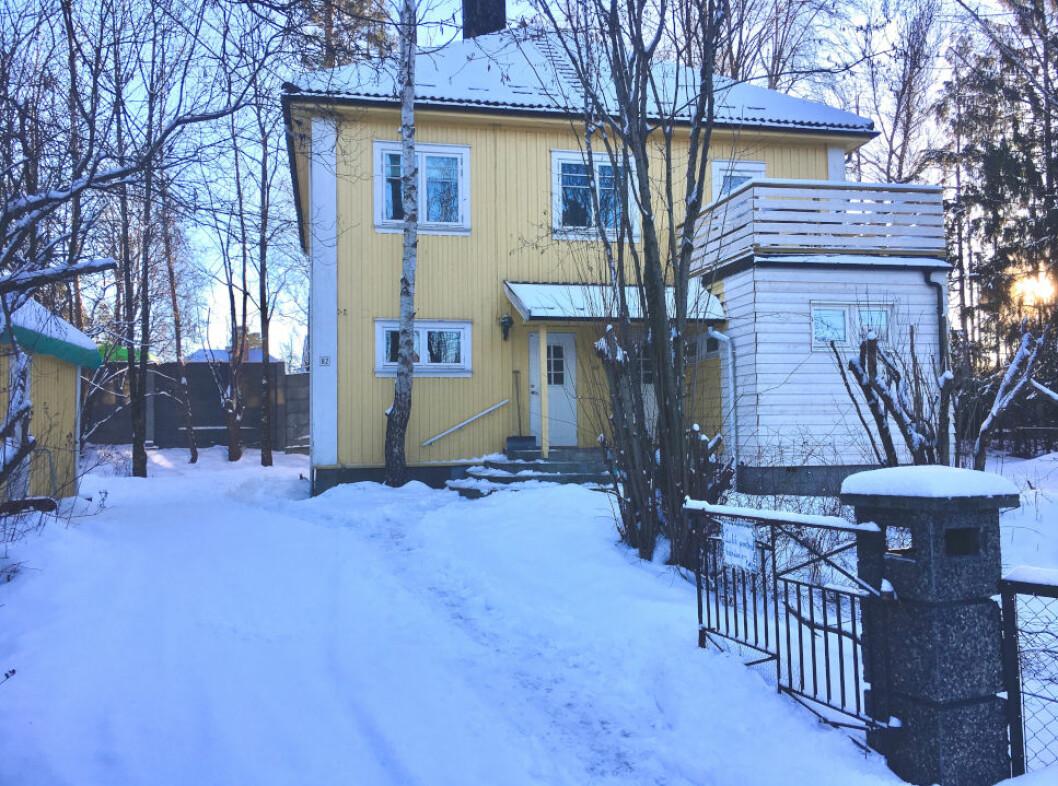 HAR SLUKT ET HELT NABOLAG: Ferd Eiendom kjøpte denne eiendommen rett ved E18 i fjor. Siden har selskapet gjort avtale om erverv av mange av naboeiendommene.
