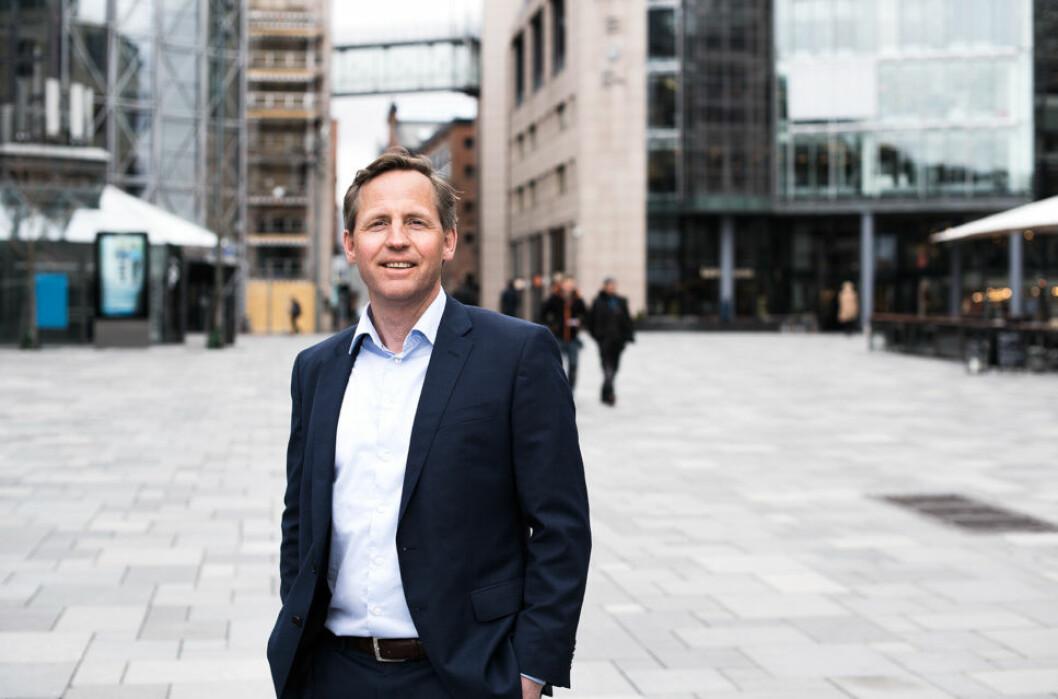 GÅR UT AV CBRE: John Olof Solberg.