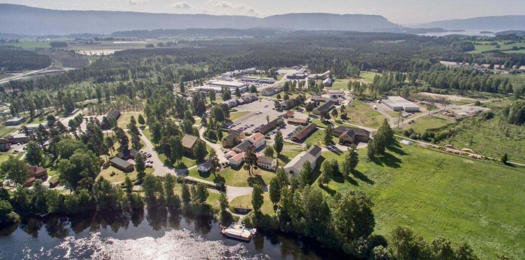 PLANER: XPND har engasjert arkitekter for å legge planer for næringsparken som opprinnelig var en militærleir.