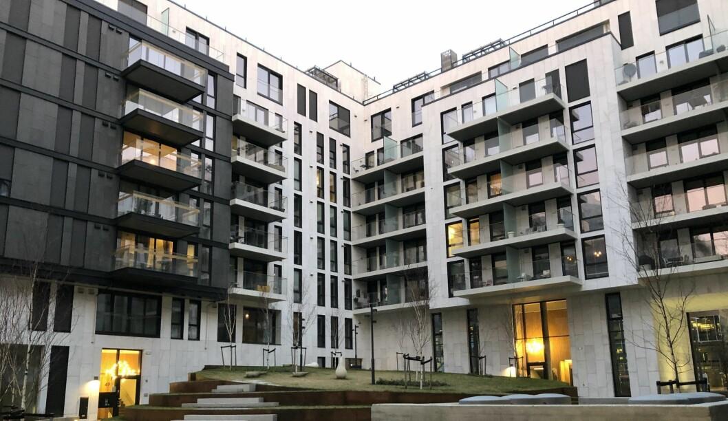 FOR DYRT: De aller fleste boligene i Oslo er uoppnåelige for førstegangskjøpere. Illustrasjonsfoto: Glen Widing