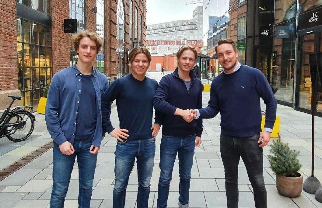 Fra venstre: Ole Ekern, Steinar Seim, Kristoffer Moe Lundquist, Pål Berget
