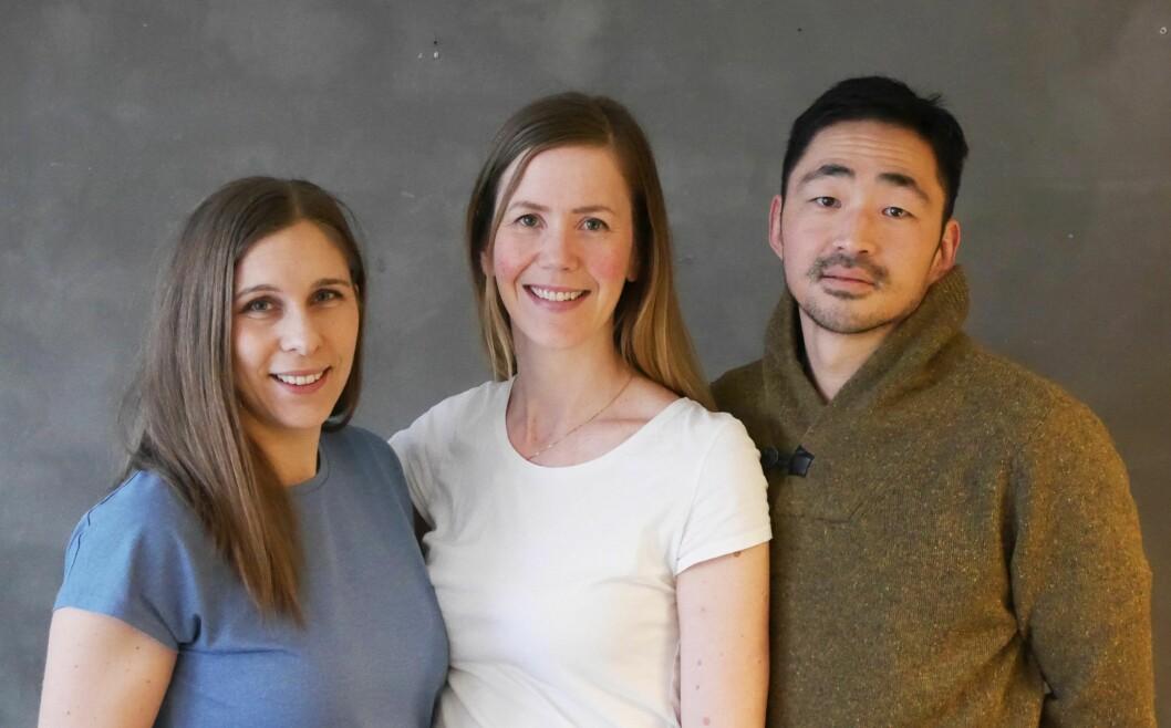 NYTT KONTOR: Seniorarkitektene Eva Nordgård, Håkon Berger og Bibbi Irminger Thomassen forlater TAG for å starte for seg selv.