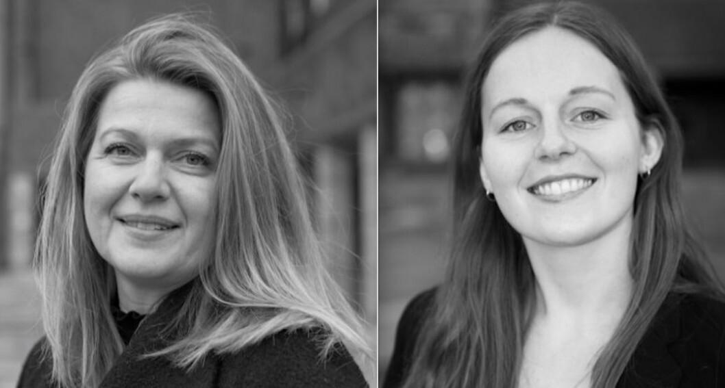 NYE I OSLO FINANS: Katrine Duns og Marthe Bordal går til Oslo Finans.