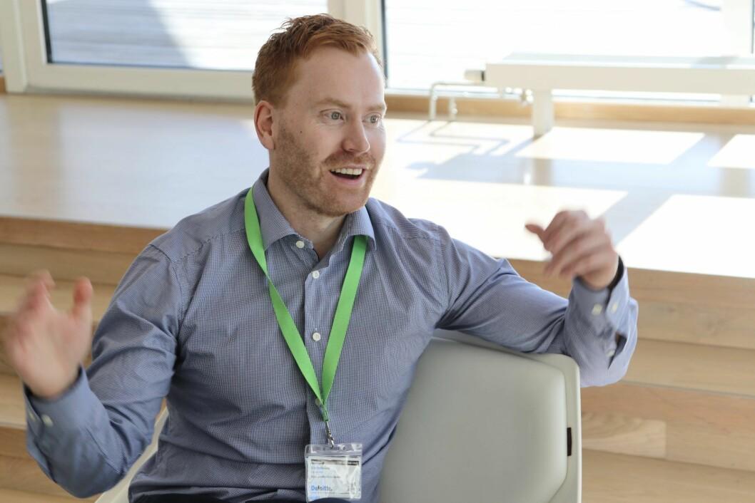 TOPP: Erik Stokkeland, medgründer og administrerende direktør i Futurehome.