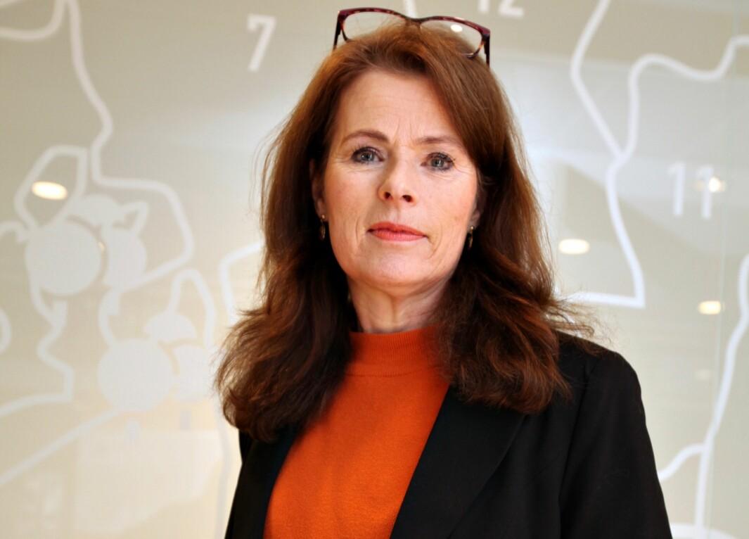 SPENT: – Koronautfordringene i byggebransjen har ennå ikke påvirket størrelsen på vår portefølje, men vi følger utviklingen spent, sier etatsdirektør Siri Gauthun Kielland.
