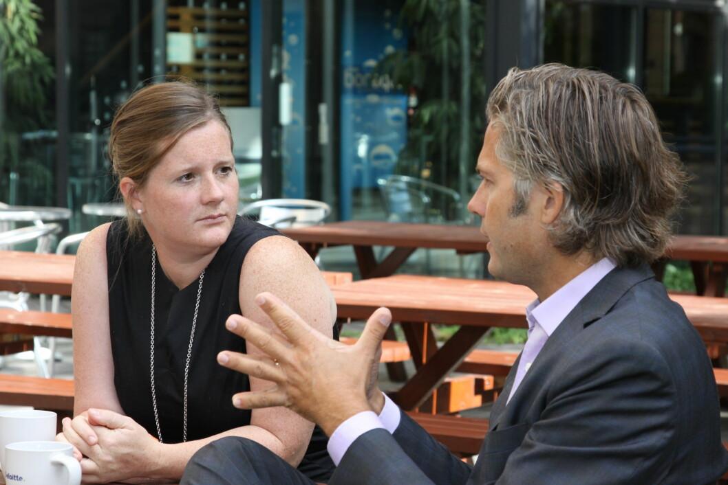I FORKANT; Thorvald Nyquist og Ina Wikborg Todal i Deloitte Advokatfirma gjennomgår noen av de viktigste reglene utleiere må være kjent med i urolige tider. Vær proaktive, er budskapet.