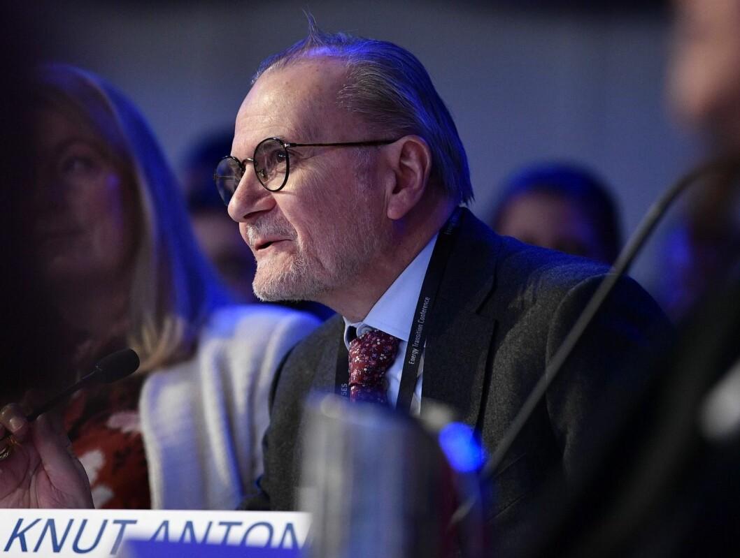 HOLD HJULENE I GANG: Knut Anton Mork sier at fokus nå må være å hindre smittespredning, samt å holde hjulene i gang i samfunnet. Foto: Ole Martin Wold Lisens: CC BY-NC-SA 2.0