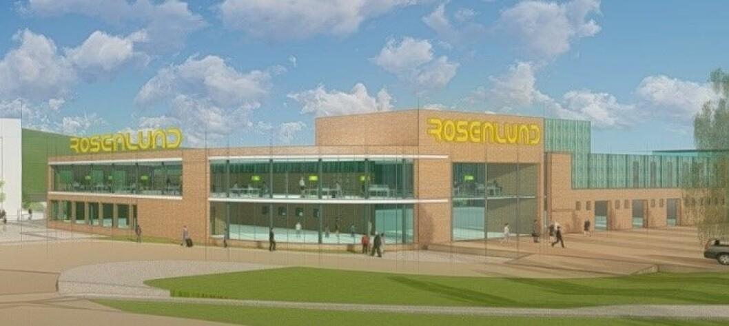 SATSER: Nå skal bydelssenteret utvides og rehabiliteres. Ill.: Larkas Arkitekter