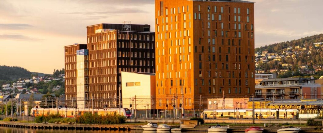 UTSATT: Salget av hotellet er utsatt, mens salget av kontorbygget ikke er rammet på samme måte som hotellet, Foto: Terje Borud.