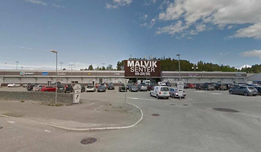 TUNGT: Malvik Senter har slitt med høy ledighet, noe Norli Libris mener kostet dem dyrt. Foto: Google Street View.