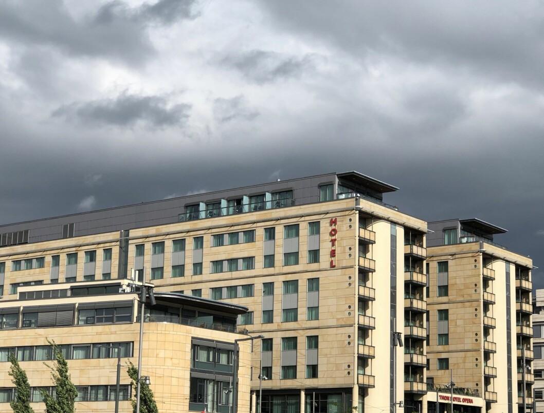 KRISE: Det henger mørke skyer over hotellbransjen om dagen. Illustrasjonsfoto: Glen Widing