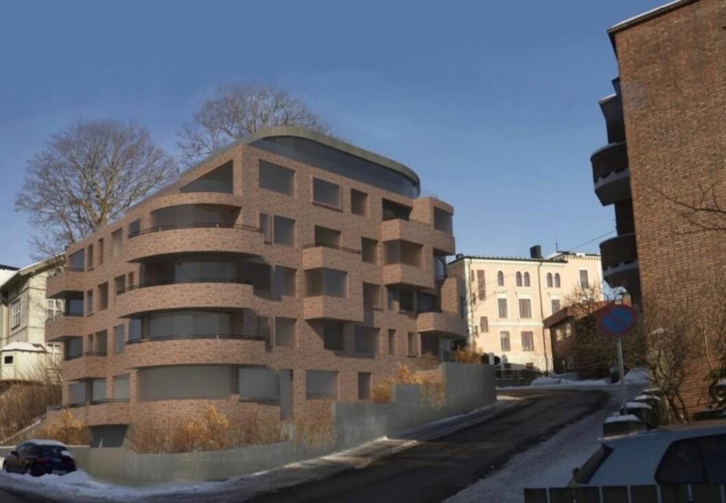 VILLE BYGGE BOLIGER: Opprinnelig var det planlagt 24 boliger på tomten, som nå blir tatt over av kommunen.