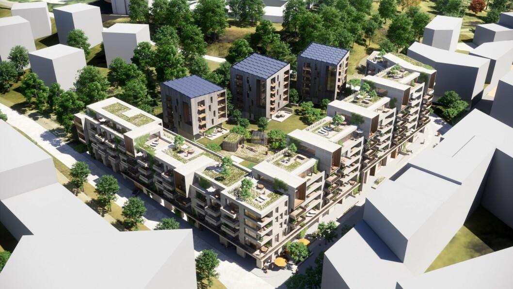 INTERAKSJON: Prosjektet skal legge til rette for interaksjon og liv på gateplan. Ill: Lund+Slaatto Arkitekter