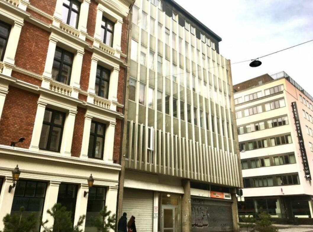 SELGES: Denne eiendommen i Kvadraturen i Oslo får ny eier.