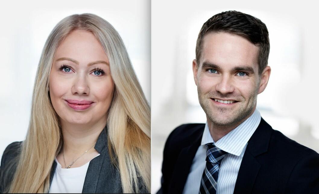 FORLIKSTILBUD: Andrea Jansen og Sindre Bogen i Advokatfirmaet Wiersholm har sett nærmere på hvem som er ansvarlig for sakskostnadene når begge parter har fremsatt et forlikstilbud.