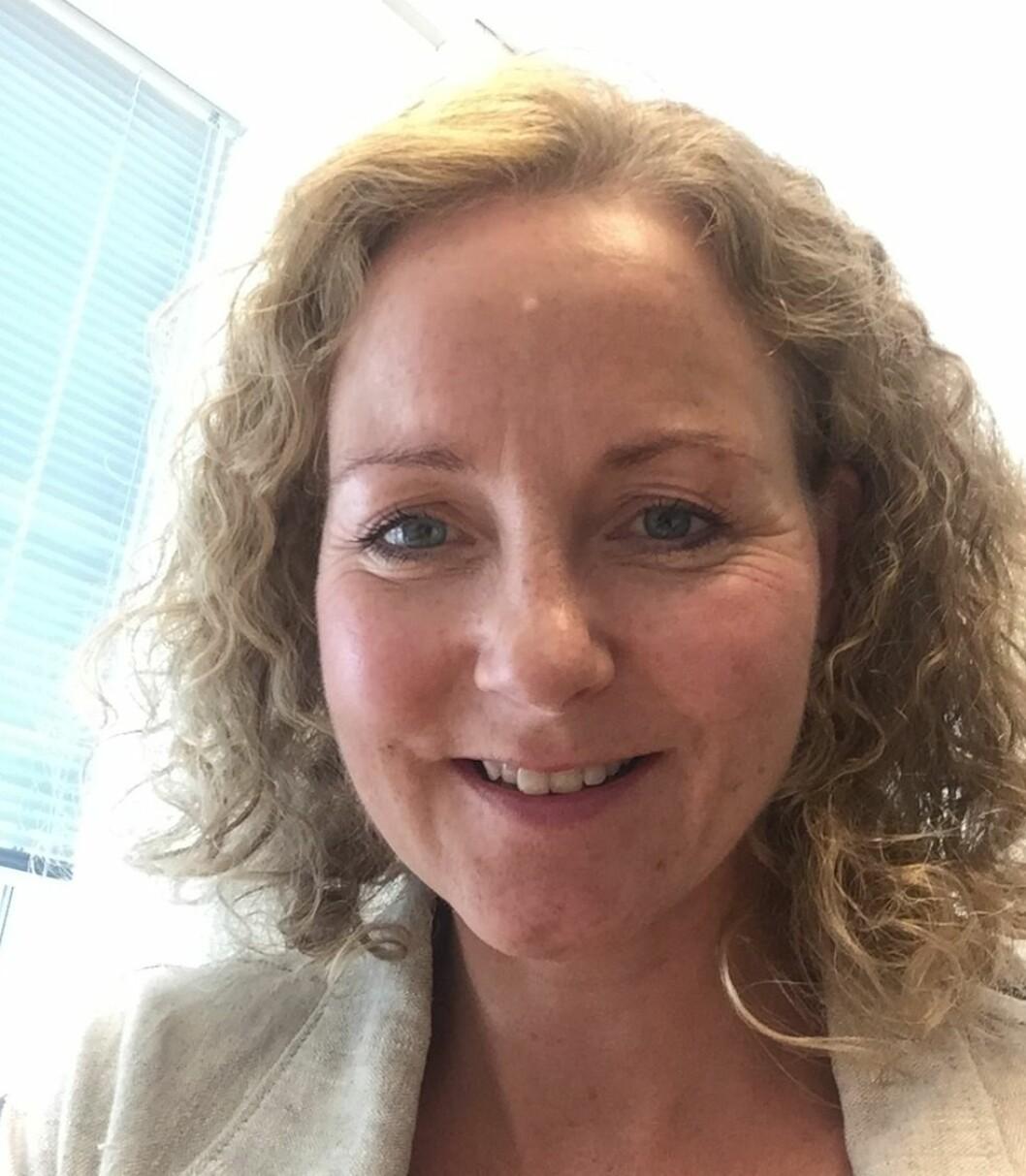 SKAL UTVIKLE TANGEN: Adm. direktør Jill Akselsen i J.B. Ugland Eiendom ser frem til å utvikle boliger på Tangen.