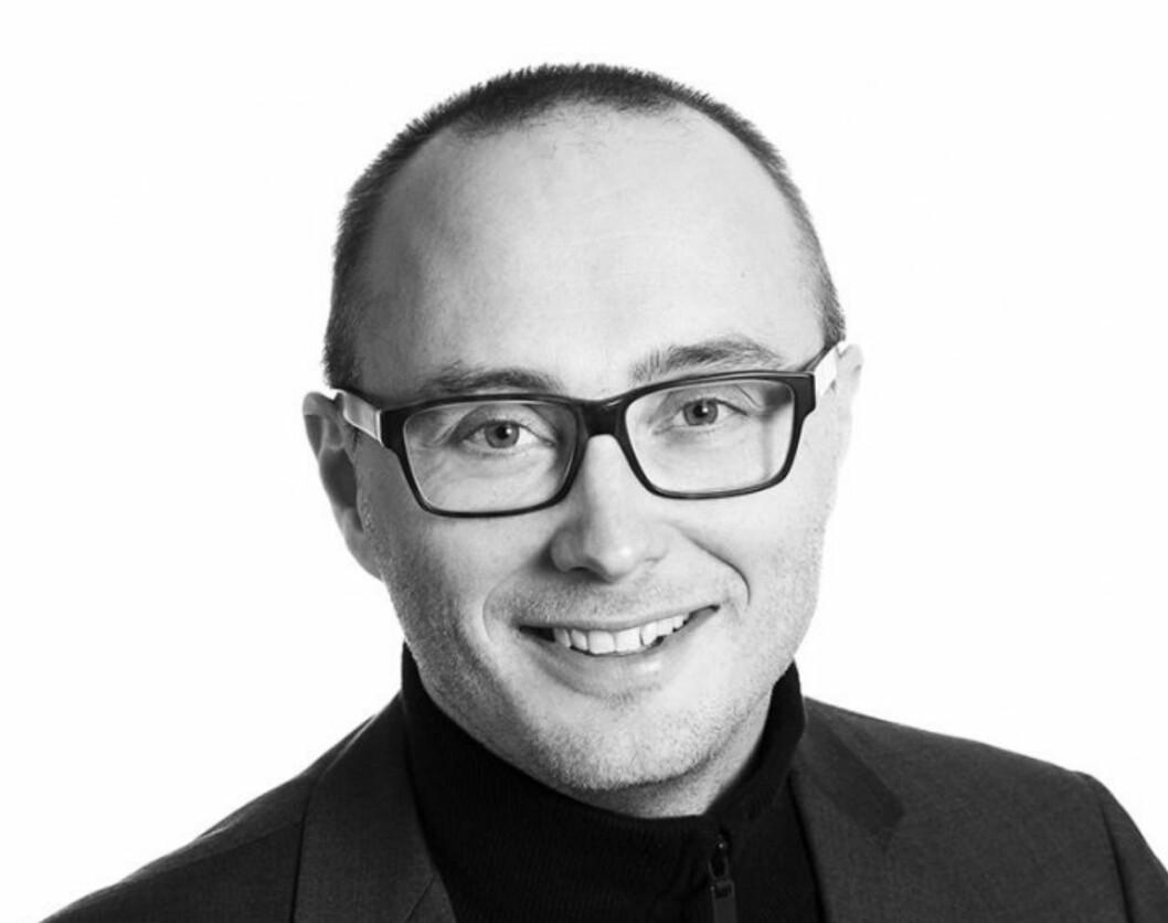 – LOKALE SCORER HØYT: Morten Olaisen står bak merkevareundersøkelsen Eiendomsbarometeret. Han forteller at de lokale aktørene står sterkt i Stavanger, Trondheim og Bergen.