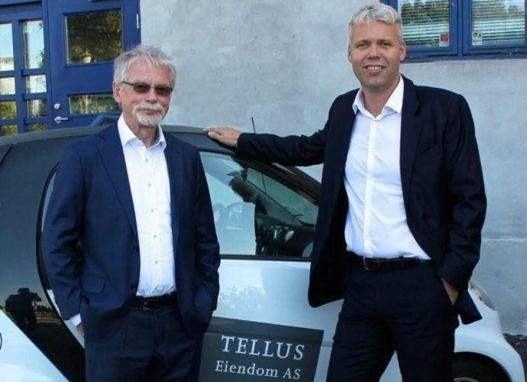 MULIGHETER: Edvard Bakkejord og Per Øivind Dahl i Tellus Eiendom ser muligheter, og er klare for å betale markedspris for de riktige eiendommene.