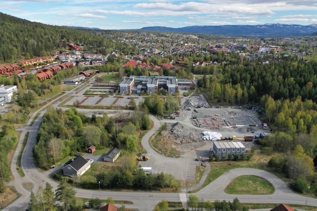 SAMARBEID: Edvardsløkka blir nytt sentrumsnært boligprosjekt.
