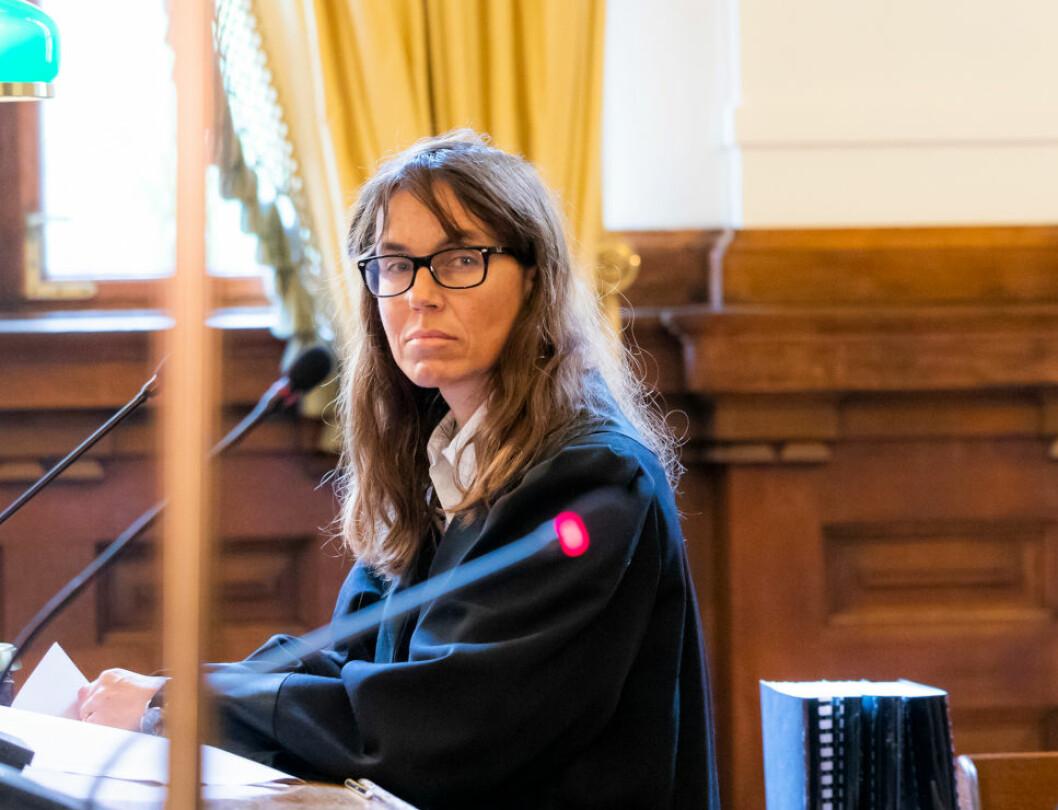 VANT FREM: De kjente advokatene Bettina Banoun (bildet) og Anders C. Ryssdal endte opp med et anneks med fukt- og muggskader, og krevde erstatning fra arkitekten. Og det fikk de.(Foto: Håkon Mosvold/NTB Scanpix)