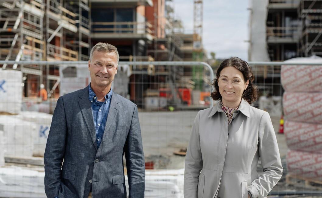NY: Styreleder Sissel Leire i Kruse Smith har ansatt Jon Syrtveitsom toppsjef.