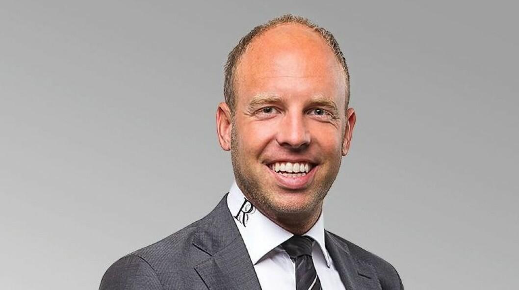 HAR MEDFART: Emil Eriksrud fikk hard medfart i fjor høst, men R8 Property økte leieinntektene kraftig og tjente 76 mill.