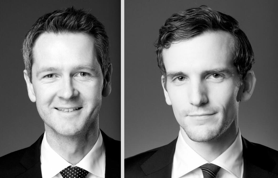 Lars Råmunddal og Bård K. H. Berge, advokatfirmaet Føyen Torkildsen AS.