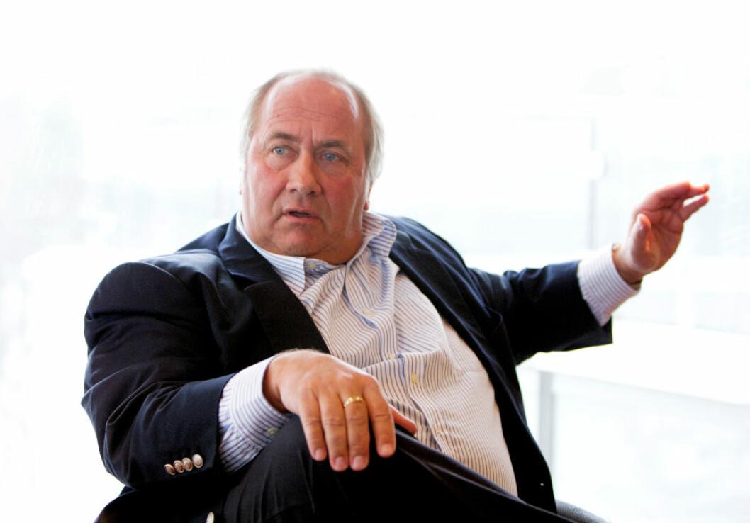 SJØLYST-KRANGEL: Eiendomsinvestor Torstein Tvenge møter i morgen i Oslo tingrett i en husleiekrangel med Høyer Sjølyst AS.(Foto: Gorm Kallestad / Scanpix)