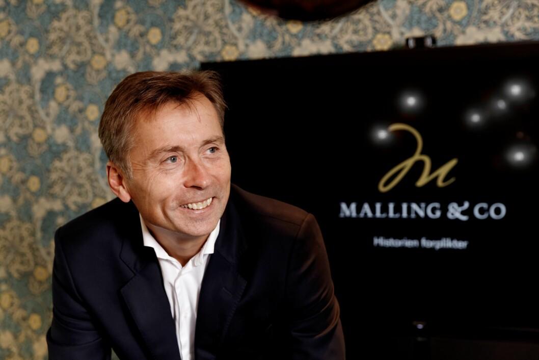 TROR PÅ TEKNOLOGISATSING: Adm. direktør Anders Berggren har stor tro på Mallings satsing på teknologi.