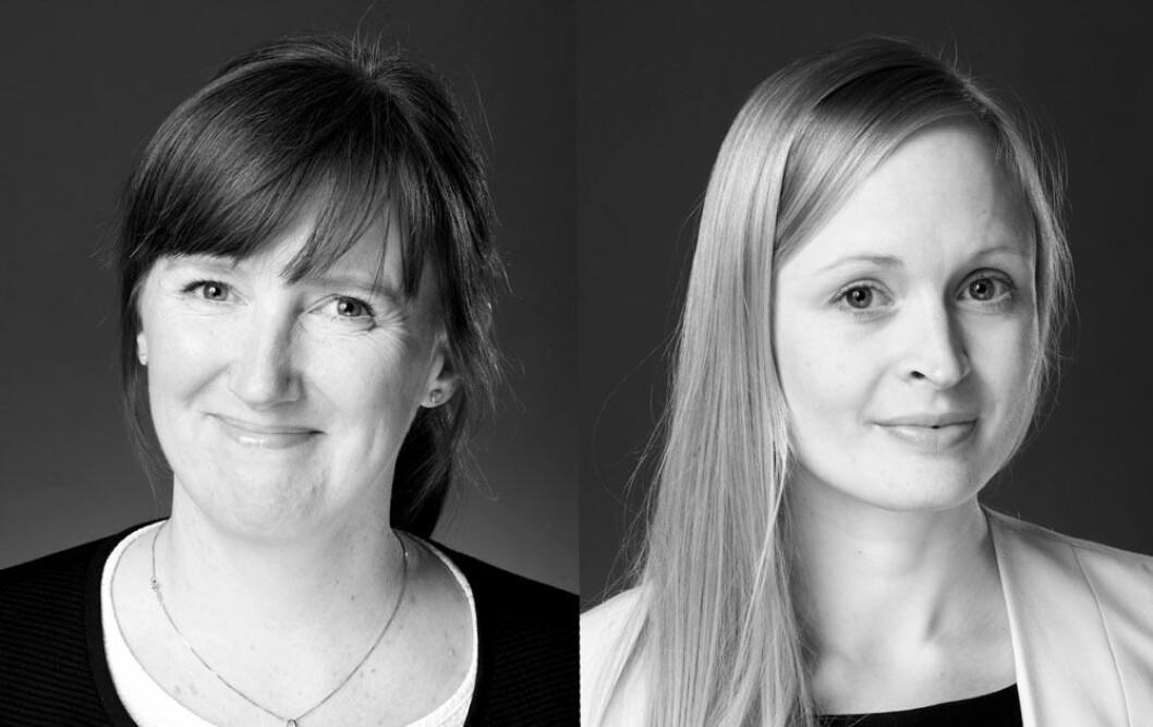 UTFORDRENDE: - Regelverket for etablering av asylmottak er uklart og mange kommuner er også usikre på hvordan de skal forholde seg til det, sier f.v. Jannike Nilsen og Sofia Bjørck i advokatfirmaet Føyen Torkildsen.