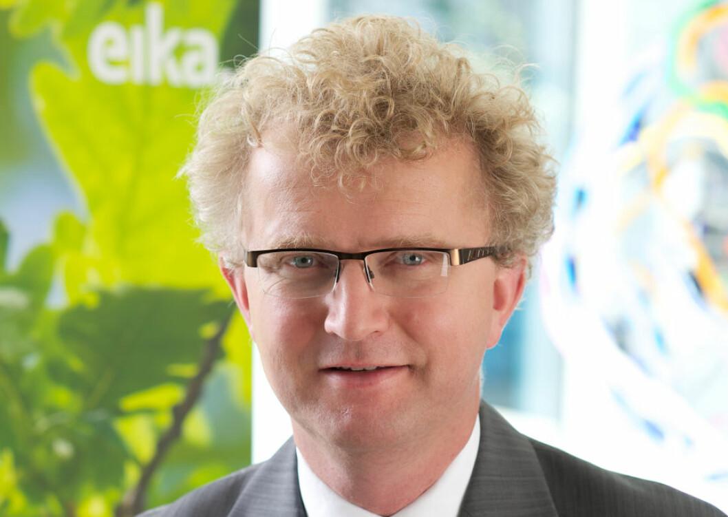 TIL BOLIGDAGENE: Sjeføkonom Jan Ludvig Andreassen.