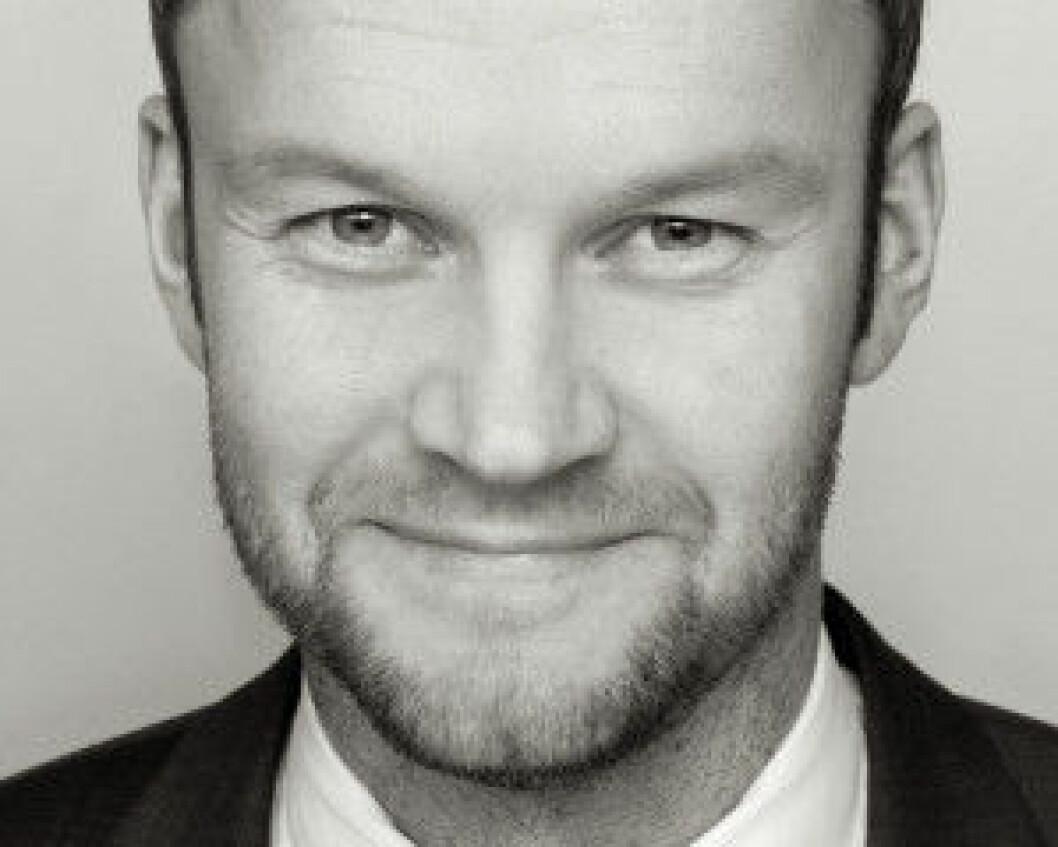 TVISTELØSER: Øystein Myre Bremset.