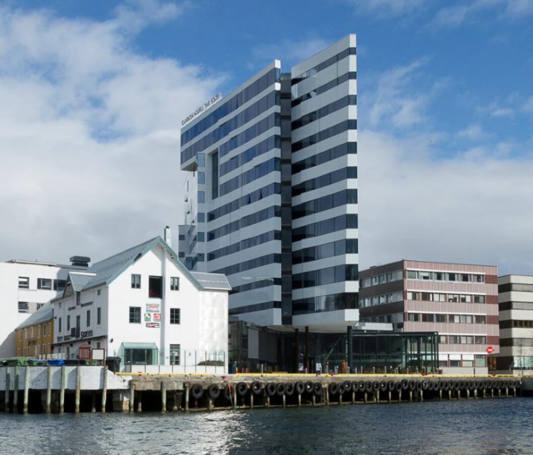 PRISSATT: The Edge i Tromsø.