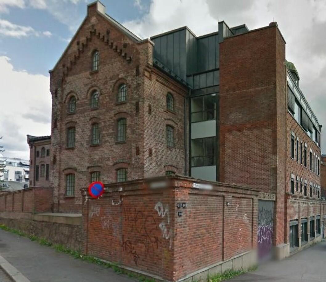 RIngnes' hovedkontor i Oslo kan bli solgt. Foto: Google Street View.