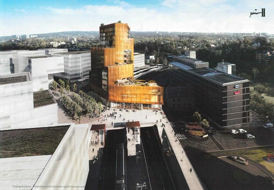 Bygget kan bli på 10.000 kvadratmeter.