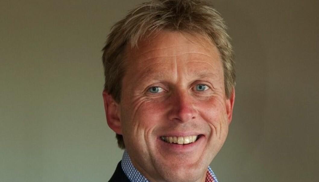 Henning Hanevold, administrerende direktør Peab Eiendomsutvikling.