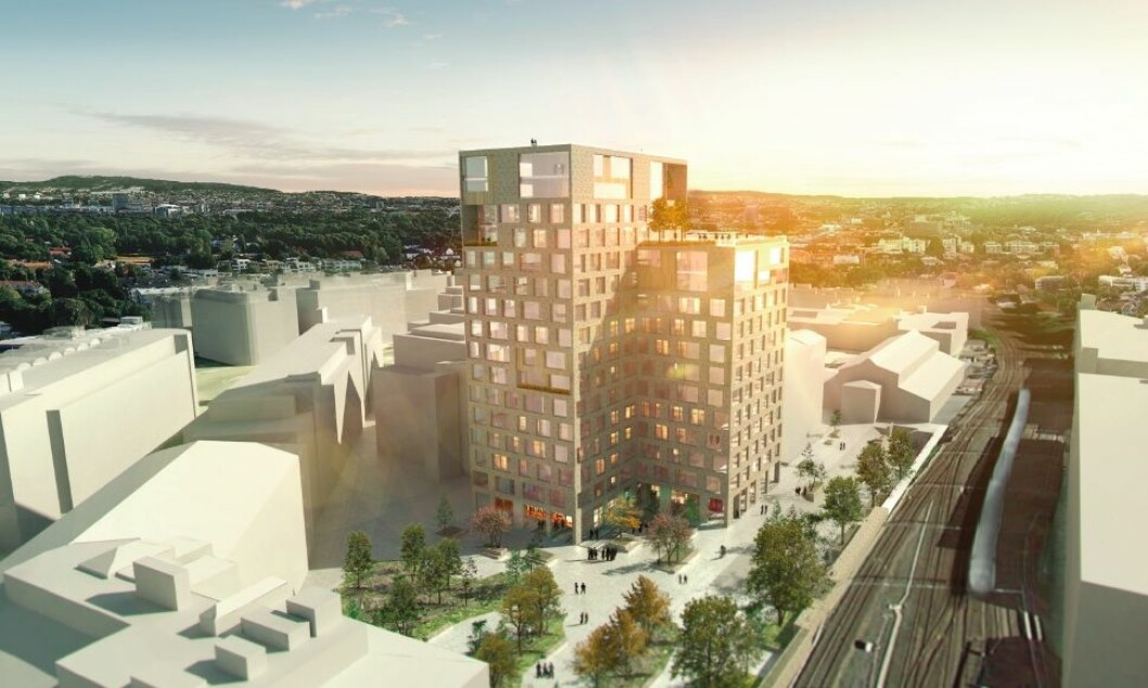 Nybygget skal stedstilpasses Skøyens særegne historiske arkitektur.